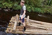 Plavení dřeva po Vchynicko - tetovském kanálu