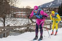 Běžec na lyžích Jan Šrail (na snímku ze slavné Marcialonzi) si na další závod v rámci Visma SkiClassic musí počkat do neděle.