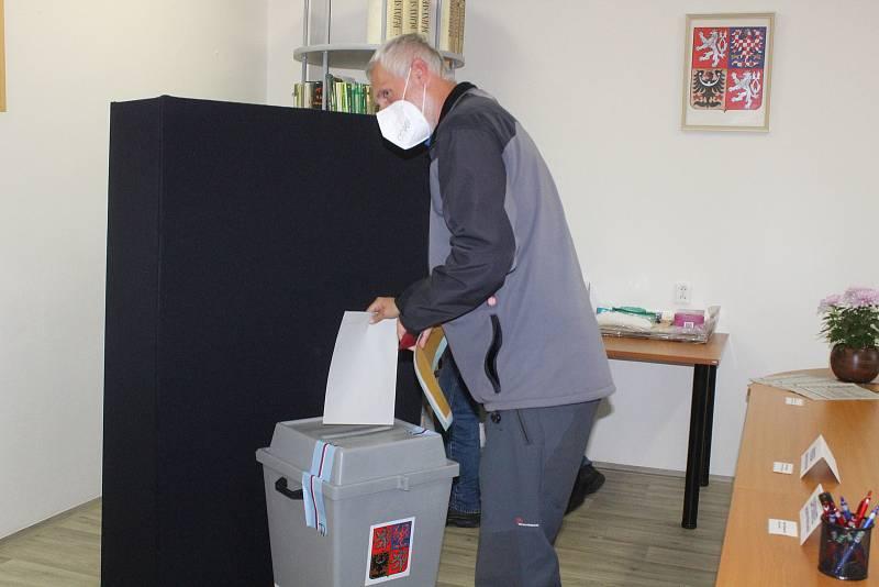 Parlamentní volby na Šumavě 2021.