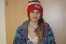 Hokejistka Veronika Lorencová.