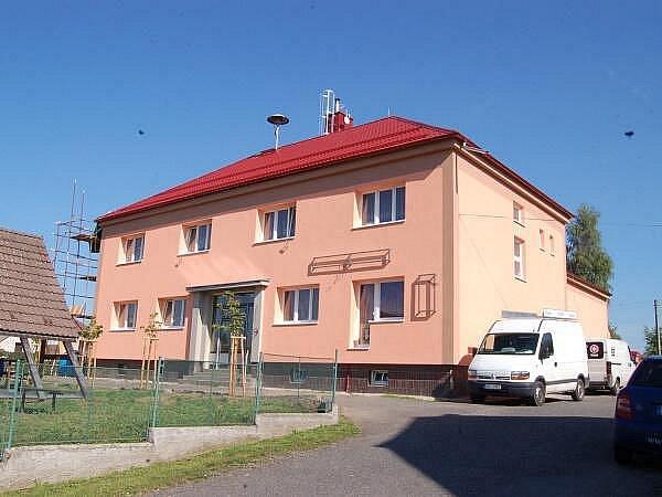 Zateplení kulturního domu v Bolešinech