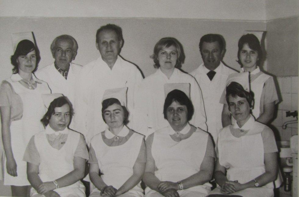 Historie Klatovské nemocnice a jeslí v Klatovech. Foto: archiv