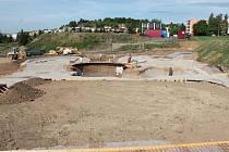 Výstavba skateparku v Klatovech