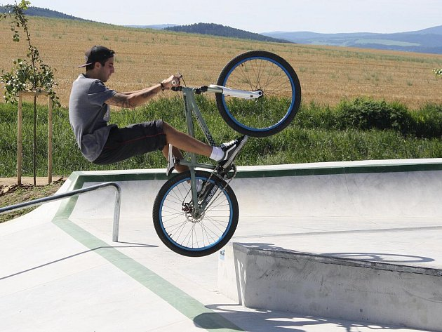 Nový skatepark v Klatovech