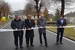 Kraj opravil silnici z Plánice na křižovatku pod Bukovákem.