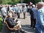1. máj v Klatovech a Bolešinech