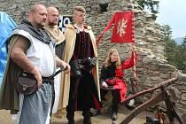 O víkendu 6. a 7. května se na Kašperku konaly historické slavnosti na počest Karla IV.