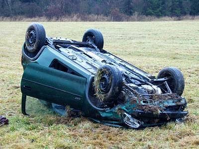 Dopravní nehoda u Vítkovic