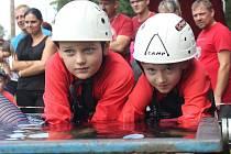 Jedenácté kolo Pošumavské hasičské ligy a dětský pouťový pohár v Malé Vísce