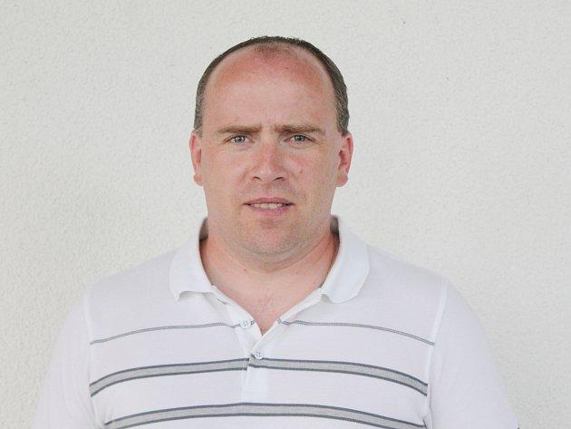 Trenér lubských fotbalistů Vladislav Smolík.