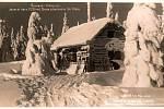 Zima na Šumavě na archivních snímcích.