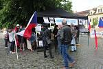 Demonstrace v Sušici.