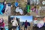 Tleskáme! Vyrazili do ulic i parků a úklidem pomohli přírodě.