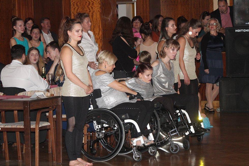 Ples handicapovaných v Klatovech 2019.