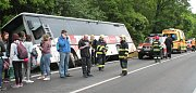 Nehoda autobusu u Kokšína.