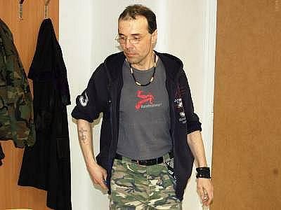 Václav Engler u klatovského soudu