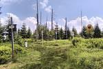 Šumava, historický hraniční přechod Modrý sloup