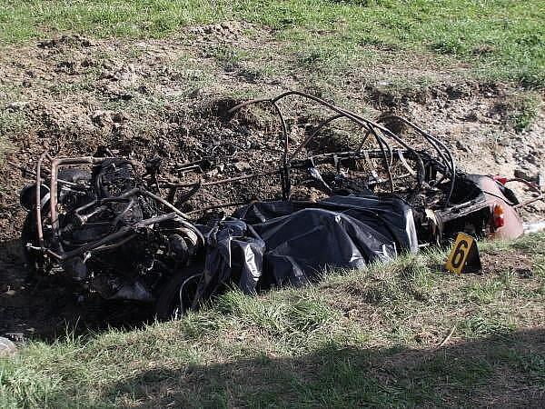 Tragická nehoda velorexu u Klatov