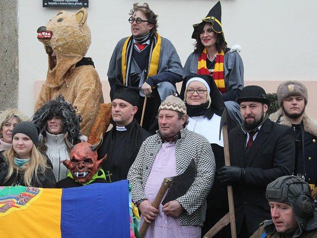 Masopust v Hejné 2017.