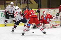 Hokej, krajská liga: Klatovy B - Tachov