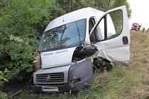 Nehoda u Skelné Hutě