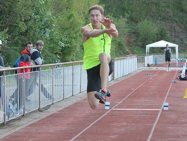Velká cena Klatov ve skoku dalekém a v hodu oštěpem 2015.