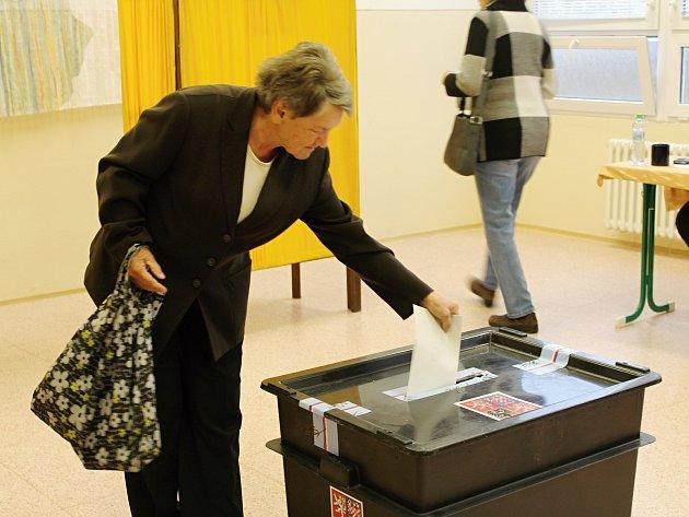 Druhý volební den na Klatovsku.