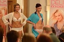 Přehlídka Delija models v Hrádku 2013