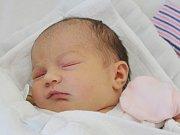 Eliška Řezáčová z Přeštic (3810 g) se narodila v klatovské porodnici 5. června ve 12.18 hodin. Rodiče Eva a Josef věděli, že Kubík (8) bude mít sestřičku.