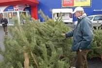 Vánoční stromečky jsou v prodeji