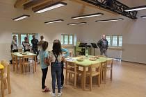 Nové třídy školy v Kašperských Horách.