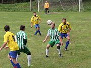Fotbal, III. třída: Velhartice (zelenobílí) - Velké Hydčice