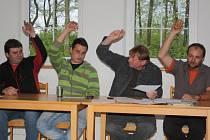 Ustavující zasedání Zastupitelstva obce Hnačov