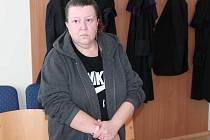 Jana Mašková u klatovského soudu.