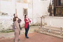 Prohlídka kostela sv. Mikuláše v Kašperských Horách