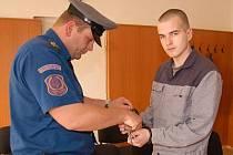 Ondřeje Matějovice přivezla k soudu eskorta