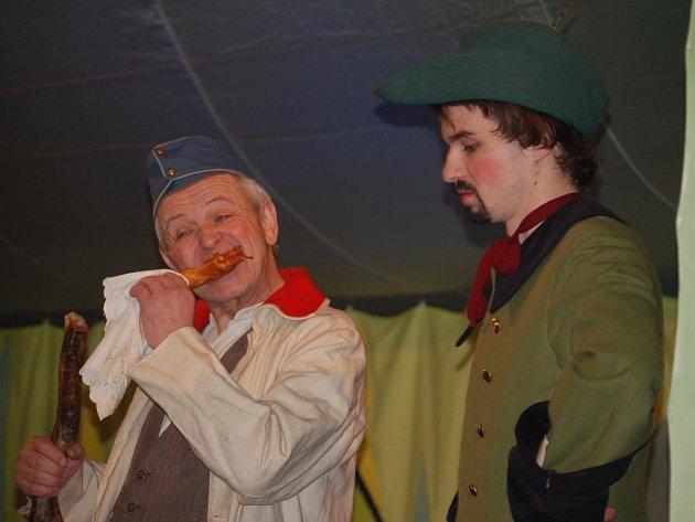 Jan Drda – Hrátky s čertem ( Petr Richter (Martin kabát) a Tomáš Braunreiter (Lucius)