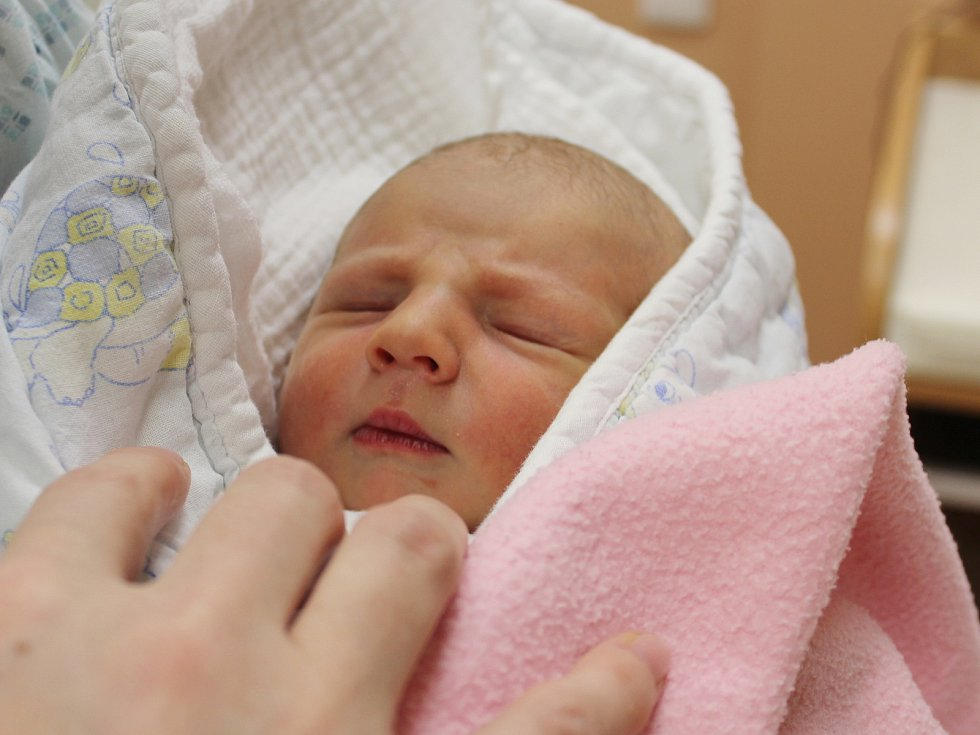 Zoey Talichová z České Kubice se narodila v klatovské porodnici 15. ledna ve 20.05 hodin (3390 g, 50 cm). Na první miminko se rodiče Zuzana a Tomáš moc těšili. Že se jim narodí holčička, věděli dopředu.