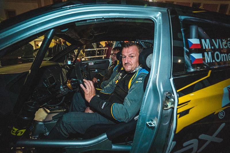 Rally Pačejov (41. ročník) - předstartovní show.