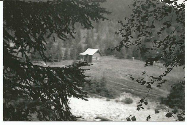 Stříbrných chata.