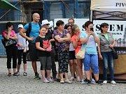 Zahájení turistické sezony v Klatovech.
