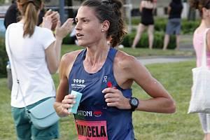 Marcela Joglová na jednom ze svým závodů v roce 2019.