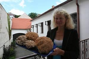 Jana Pichlíková s úlovkem.