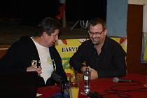 V Točníku besedovali o Dakaru Stanislav Zloch a Richard Beneš.