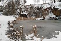 Zima v Klatovech a okolí.