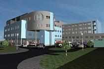 Stavba Klatovské nemocnice
