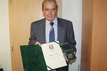 Laureát ceny dr. Václava Jíry Oldřich Friš z Klatov.