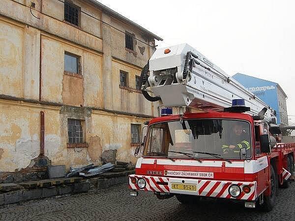 Požár truhlárny ve Švihově