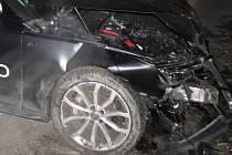 Nehoda v Bojanovicích.