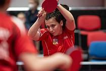 Helena Sommerová na turnaji v Havířově.